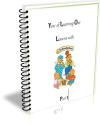 Come learn alongside everyone's favorite bear family with this FREE curriculum to use alongside the beloved Berenstain Bears storybooks!
