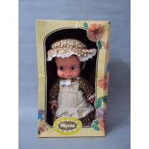 Brinquedo Antigo, Rara Boneca Myrna