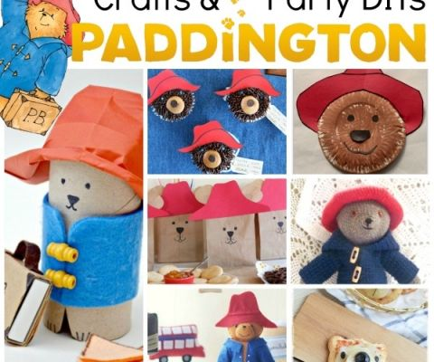 Skeleton Paper Puppet Template Red Ted Art S Blog Bear Crafts Paddington Bear Party Paddington Bear