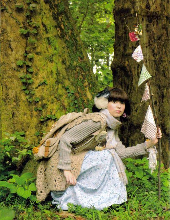 Choco's Style & Fashion Handbook: My Mori Kei inspirations | Hedgefairy