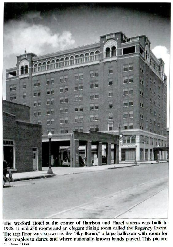 The Wolford Hotel Built In 1926 Danville Il Pinterest Ins And Hotels