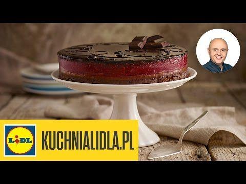 Najlepszy Czekoladowy Torcik Z Malinami Pawel Malecki Przepisy Kuchni Lidla Youtube Cake Cake Stand