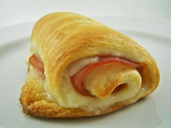 Swiss cheese, Hams and Crescents