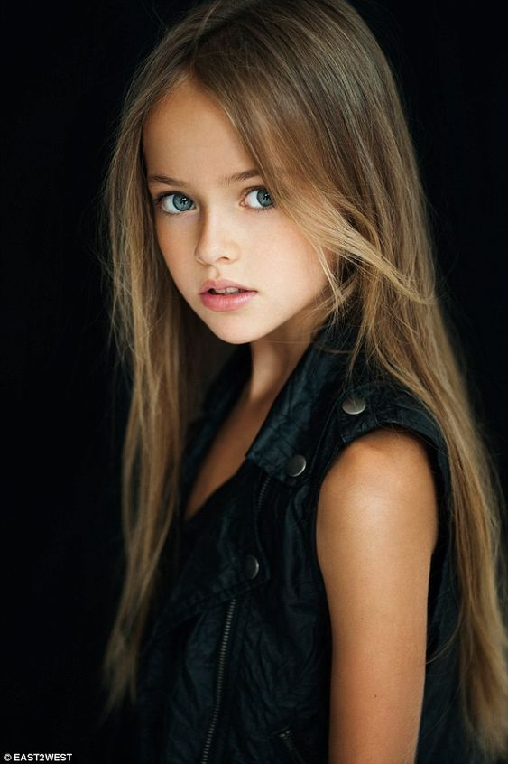 Kristina Pimenova is just nine years old but has become a worldwide sensation after pictur...