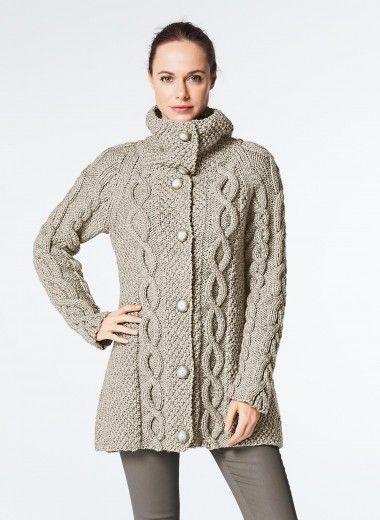Cat Coat Knitting Pattern : Cat n° a line cardigan buy yarn