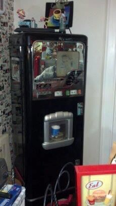Vintage stoner cafe 500 d coffee hot chocolate vending machine coke 7up pepsi - Machine a cafe vintage ...