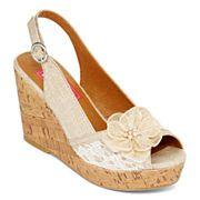 Pop Kalie Platform Wedge Sandals