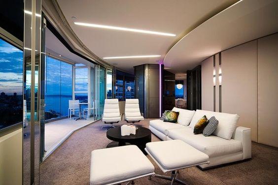 Modern Apartment Interior Design - http://homeides.com/modern-apartment-interior-design/