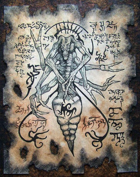 El Necronomicón,un libro salido de los infiernos D9f191535547f147c6fc3010039b34b0