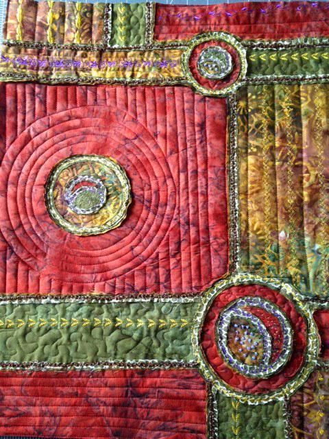Stitch and Slash class from Craftsy   quilt country   Pinterest ... : slash quilt - Adamdwight.com