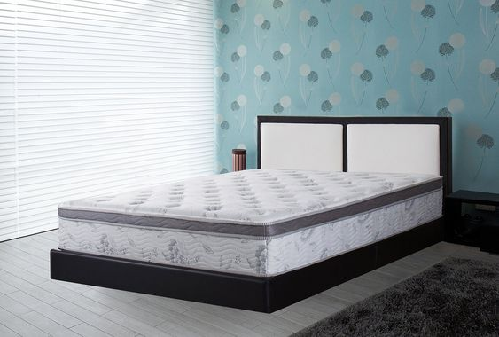 Olee Sleep 12 In Pegasus Euro Box Top Spring Mattress Queen 12sm01q Click Image To Review More Details Affiliate Li In 2020 Mattress Mattress Springs Queen Mattress