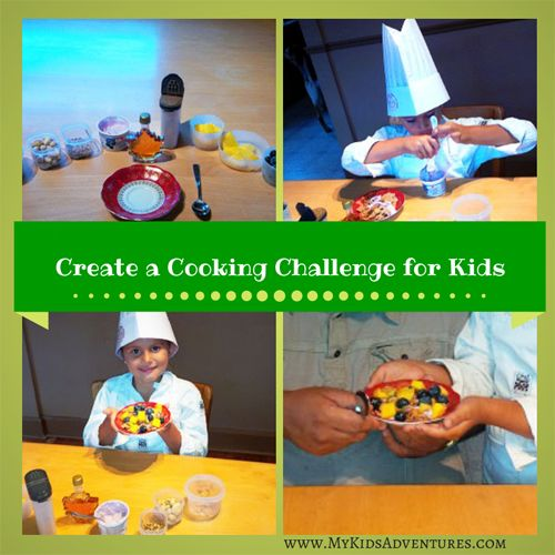 Black box cooking challenge for kids: a fun family cooking competition using items you already have in your kitchen.