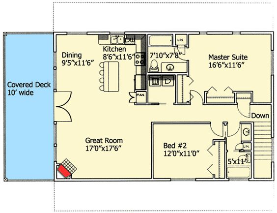 Popular Compact Design - 35245GH   Carriage, Mountain, Vacation, Photo Gallery, 1st Floor Master Suite, CAD Available, Den-Office-Library-Study, Drive Under Garage, PDF   Architectural Designs