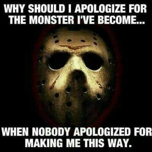 Pin By Dczky On Only Me Horror Quotes Monster Quotes Horror