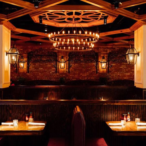 Porchlight Nyc Yelp: Gas Lights Indoors? Yes, Indeed! Succotash Restaurant In