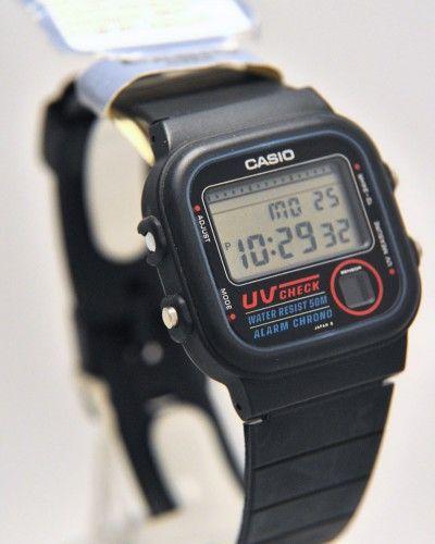 Retro CASIO UV-100, detects harmful UV rays