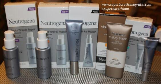 #Sorteo: Línea @Neutrogena® Rapid Wrinkle Repair – valor $100