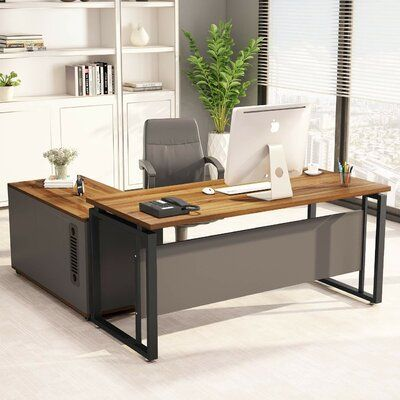 Williston Forge Plumlee L Shaped Computer Desk In 2020 Large