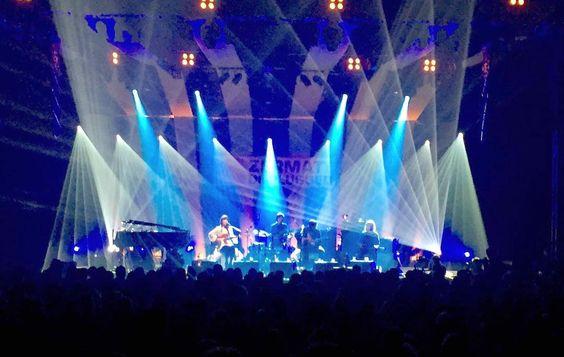 Angus&Julia Stone am #zermattunplugged =  SENSATIONELL! Was für eine Stimmung! Was für ein Festival! Was für ein toller Ort! Und das #weekend hat erst begonnen... #zermatt #matterhorn