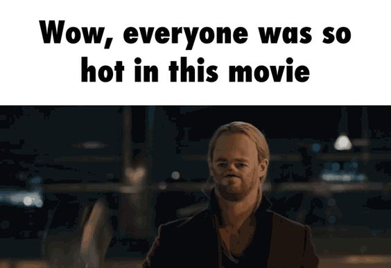 Wow, everyone was so hot in this movie #animated