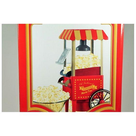 Máquina de Palomitas Palomitero Retro - Ideas de regalos ros