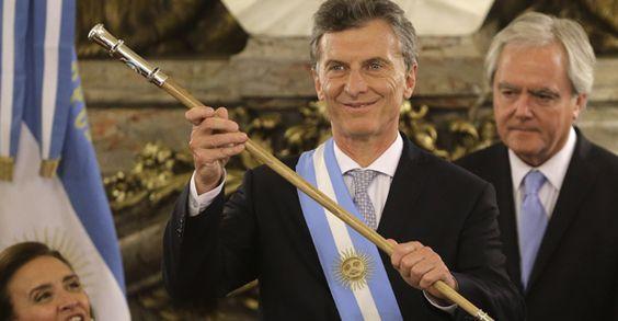 Macri asume como Presidente