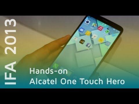 Alcatel One Touch Hero im Hands-on | Deutsch - IFA 2013