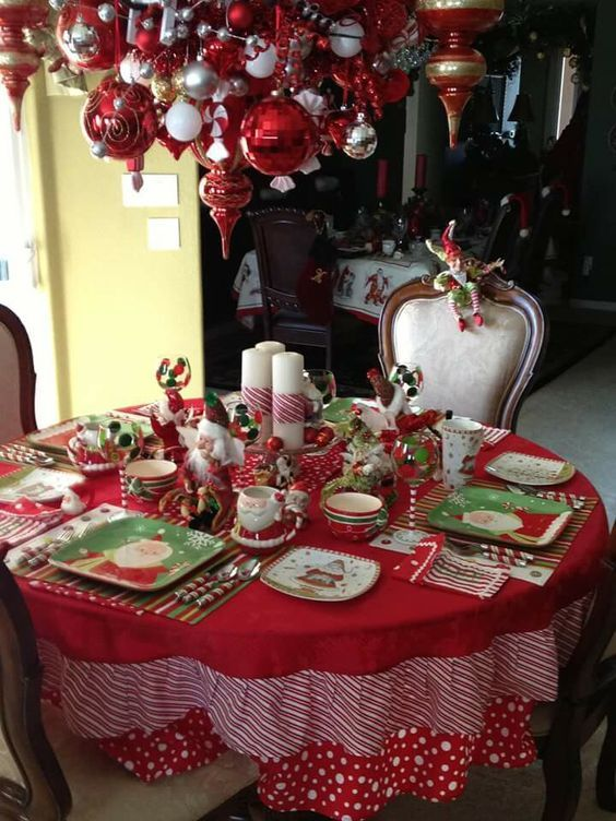 60 Best Christmas Table Decor Ideas For Christmas 2019 Where Traditions Meets Grandeur Christmas Table Decorations Table Decorations Purple Christmas Decorations
