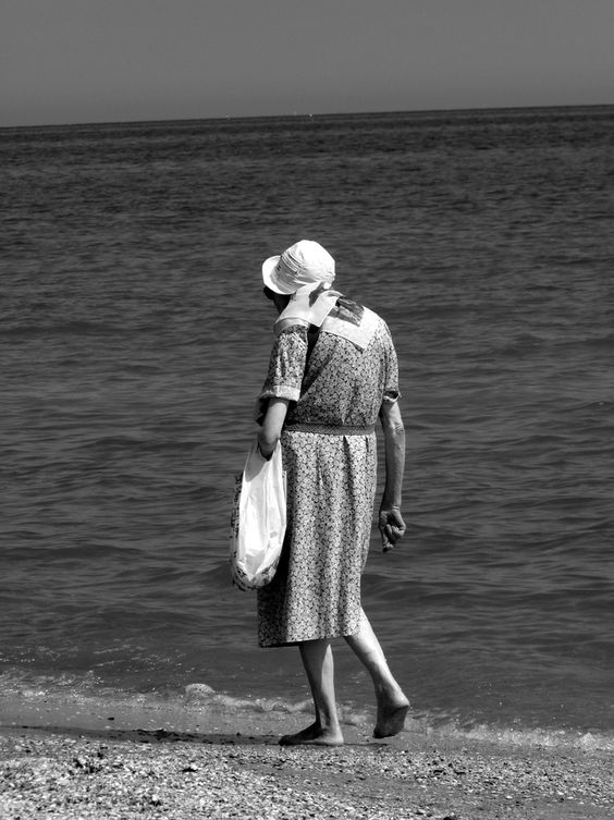 The old lady | L'anziana signora