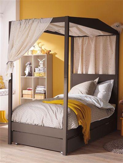 lit combin enfant volutif archipel avec tiroir taupe beige blanc vertbaudet enfant kids. Black Bedroom Furniture Sets. Home Design Ideas