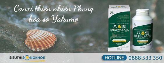 Canxi thiên nhiên phong hóa sò Yakumo {2.190.000 VNĐ} - Cung Cấp Canxi Cho Cơ Thể