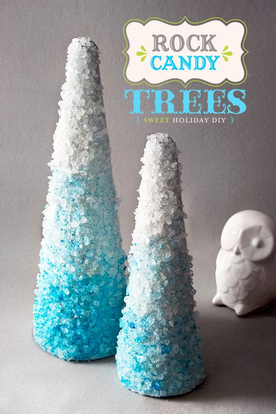 Rock Candy Trees