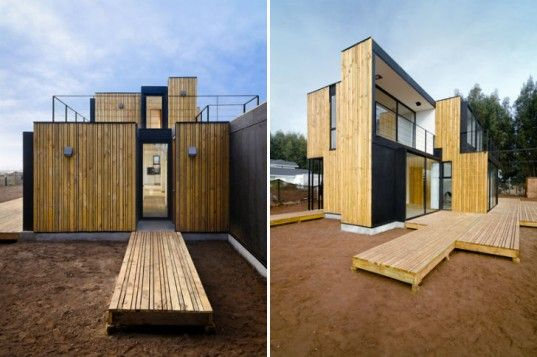Low Budget Minimalist House Architecture super low-cost mima prefab homes are modeled after minimalist