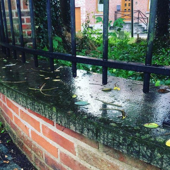 Et pendant ce temps là en Belgique il pleut...