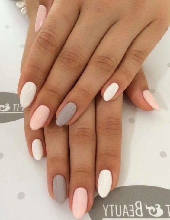 47 Most Eye Catching And Gorgeous Light Colour Nails Design With Different Colors For Beginner Nai Spring Nail Colors Pretty Acrylic Nails Best Acrylic Nails