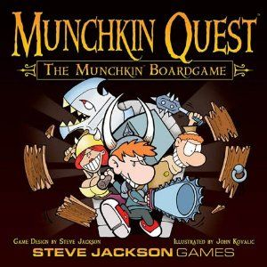 Munchkin Quest - about as good as the card game, but you need a whole lotta space to play!