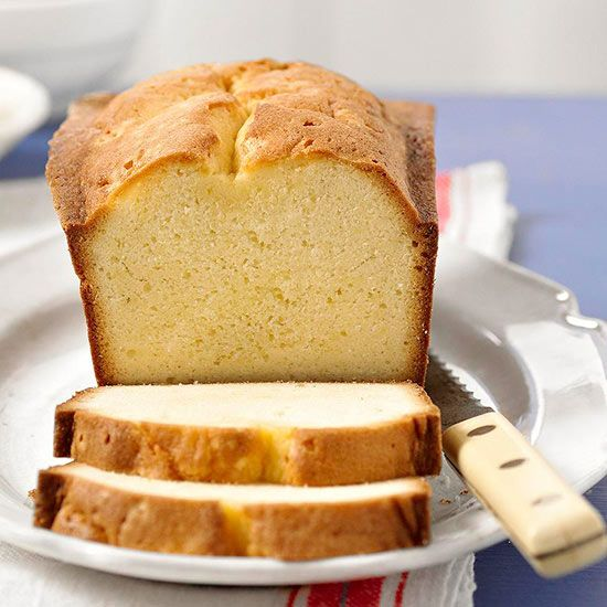 How to make pound cake grandmothers classic and glaze for How to make healthy desserts from scratch