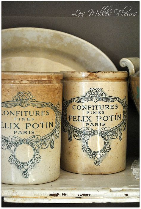 French country antique advertising ironstone French advertising ironstone