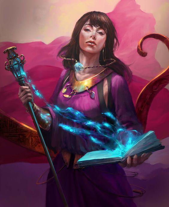 Sorceress Picture  (2d, fantasy, sorceress)