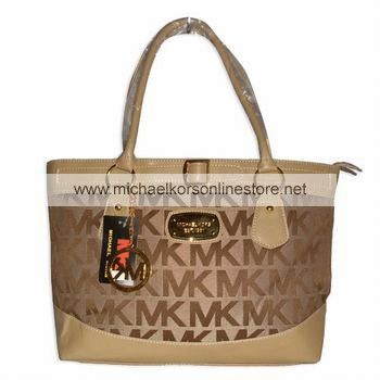 Michael Kors Outlet Handbags Clearance Brown Sriped