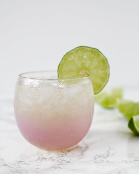 St-Germain Margarita Cocktail Recipe / Oh So Beautiful Paper