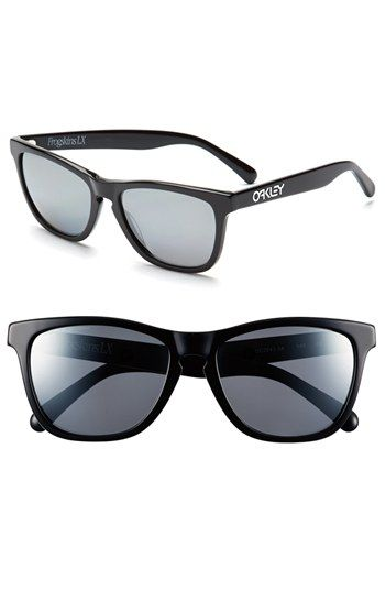 oakley frogskins lx polarized sunglasses  oakley 'frogskins? lx' polarized 43mm sunglasses available at #nordstrom