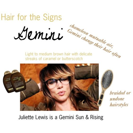 """""""Hair for the Signs Gemini"""" by expressingyourtruth on Polyvore"""