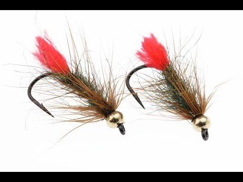 1 Fly Tying Instruction On How To Tie The Red Tag Palmer Trout Fly Youtube Fly Tying Patterns Fly Tying Fly Fishing
