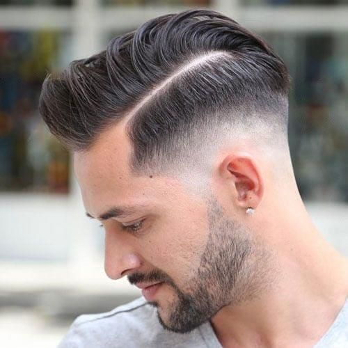 35 Pompadour Fade Haircuts Modern Styling Tips Ideas Mens
