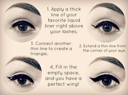 How To Apply Eyeliner For Beginners Step By Step Instructions