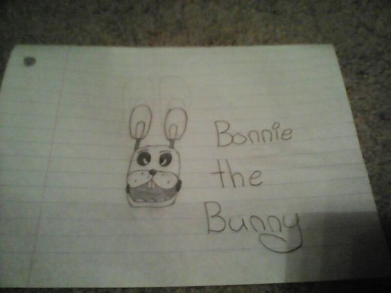My attempt at Bonnie the Bunny