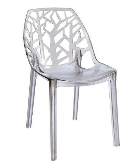 Etonnant Chaise Plastique Transparent Pas Cher Decoration