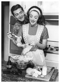 Gourmets in the 1960s