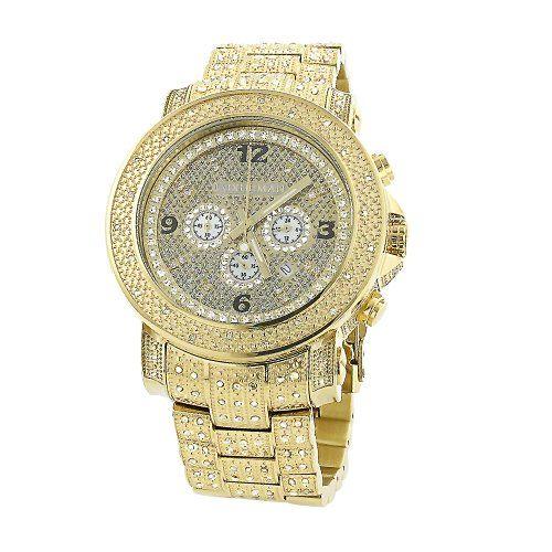 Luxurman Oversized Iced Out Mens Diamond Watch Yellow Gold 2ct #luxurman #watches #gold #diamond #diamondwatches #menwatches  http://luxurmanwatches.fitnesstoday.us/luxurman-watches-mens-oversized-diamond-watch-0-75ct-yellow-gold/